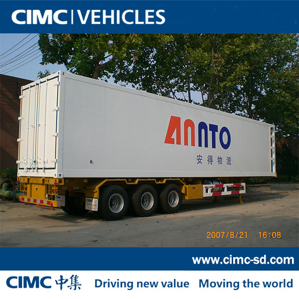 CIMC cooling semi-trailer for sale